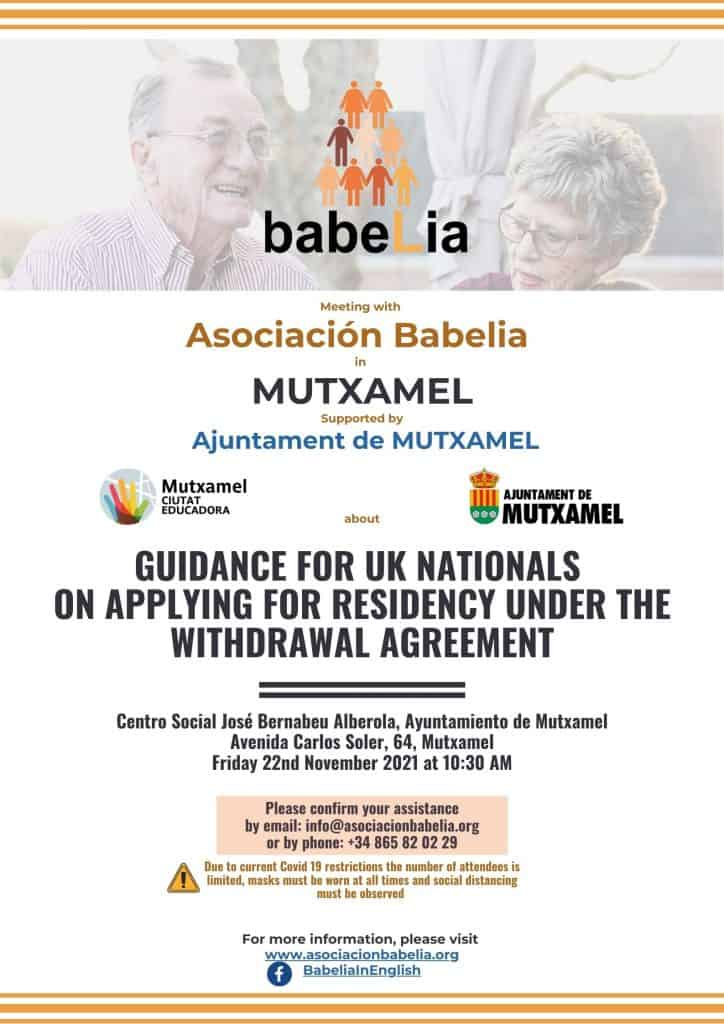 Informative talk on residency